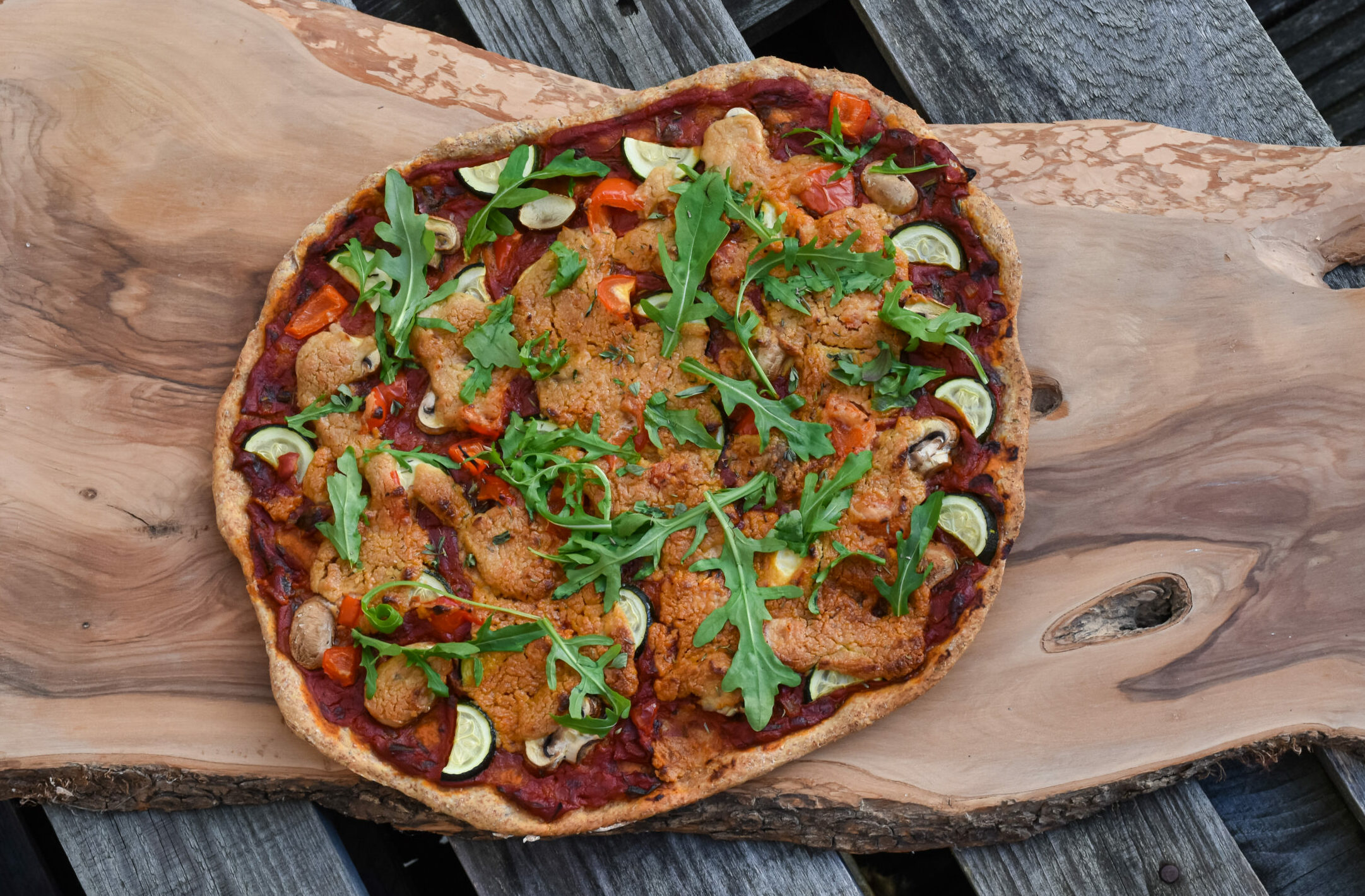 Vollkorn Pizza